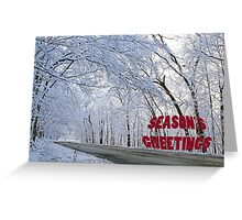 Season's Greetings - Archer Road Greeting Card