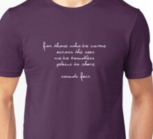 Advance Australia Fair - WHITE Unisex T-Shirt