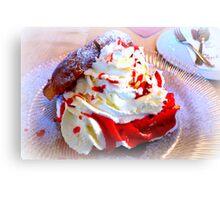 Windbeutel~ Cream Puffs Canvas Print