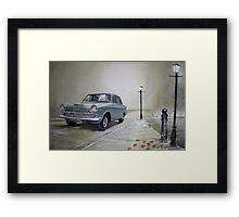 ..then your'e bound to see my other side... Framed Print