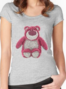 Lotso Huggin bear  Women's Fitted Scoop T-Shirt