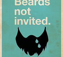 Beards Not Invited: Sad Beard by OddFix