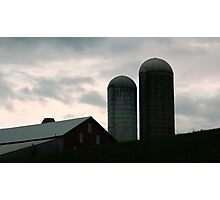 Silos in the Country         ^ Photographic Print