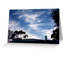 Roof 29 10 12 One Greeting Card