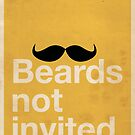 Beards Not Invited: Happy Mo by OddFix