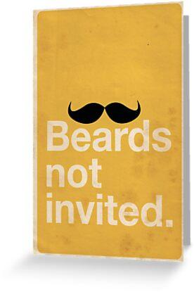 Beards Not Invited: Happy Mo by OddFix