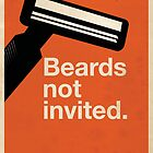 Beards Not Invited: Razor by OddFix