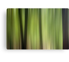 Abstract Trees in the Forest Canvas Print