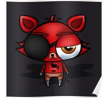 FNaF - Chibi Foxy Poster
