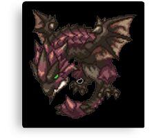 Monster Hunter - Rathalos Sprite Canvas Print