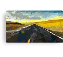 Never Ending Road Canvas Print