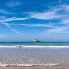 The delectable St. Ouen's Bay, Jersey, C.I by Zoë Power