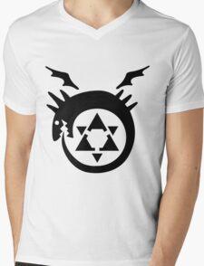 FullMetal Alchemist Uroboro [black] Mens V-Neck T-Shirt