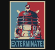 Dalek Obama Poster by JcDesign