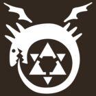 FullMetal Alchemist Uroboro [white] by Robin Kenobi
