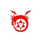 FullMetal Alchemist Uroboro iPhone Cover by Robin Kenobi