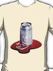 Melted Coca Cola Can T-Shirt