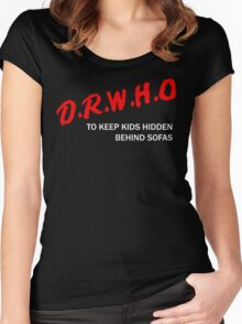 D.R.W.H.O Women's Fitted Scoop T-Shirt