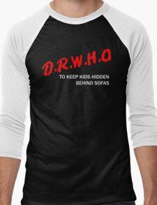 D.R.W.H.O Men's Baseball ¾ T-Shirt