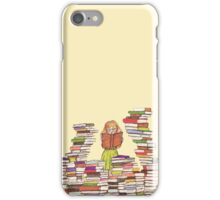 book worm iPhone Case/Skin
