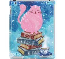 Bookish Cat in Winter iPad Case/Skin