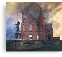 """""""The Old Hall"""" Canvas Print"""