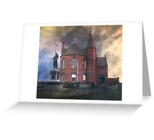"""The Old Hall"" Greeting Card"