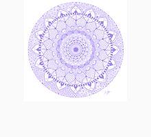 Purple Boho Zentangle Mandala Women's Tank Top