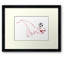 Rex United Framed Print