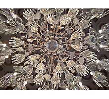 Crystal Chandelier Photographic Print