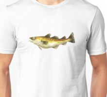 Painting of an Atlantic Cod  Unisex T-Shirt