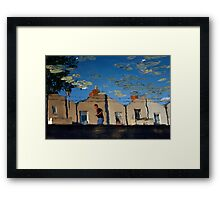 Reflections at Dublin's Grand Canal Framed Print