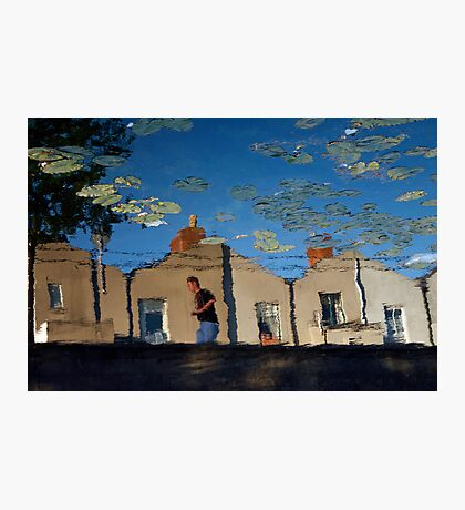 Reflections at Dublin's Grand Canal Photographic Print
