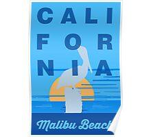 Malibu - California. Poster