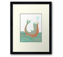 Nessie's Big Day Out Framed Print