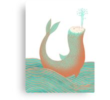 Nessie's Big Day Out Canvas Print