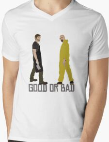 Good or Bad? Mens V-Neck T-Shirt