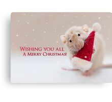 Merry Christmas to you all! Canvas Print