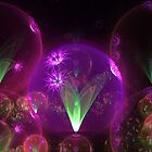 Neon Globes by Stormey