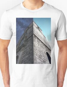Clock Tower, Day and Night. T-Shirt