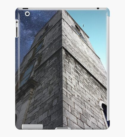 Clock Tower, Day and Night. iPad Case/Skin