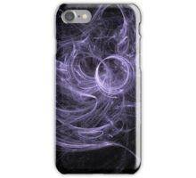 Tangled Purple Swirls iPhone Case/Skin