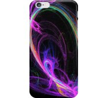 Tangled Neon Rainbow iPhone Case/Skin