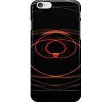 Swirling Red Heart iPhone Case/Skin