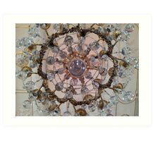 Buble chandelier Art Print