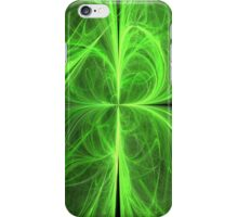 Swirling Four Leaf Clover iPhone Case/Skin