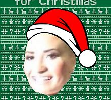 POOT LOVATO CHRISTMAS MEME by Luckythelab