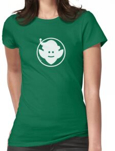 Christmas Elf Avatar Womens Fitted T-Shirt