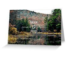 Seek & Find  Greeting Card
