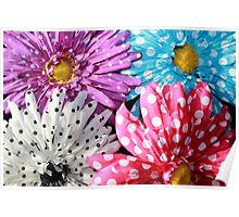 Bouquet Of Polka Dots Poster